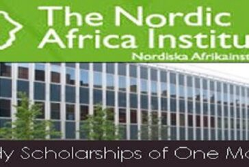 Nordic Africa Institute Scholarship Programme 2021 for Africa-oriented studies/research: (Deadline 15 October 2020)