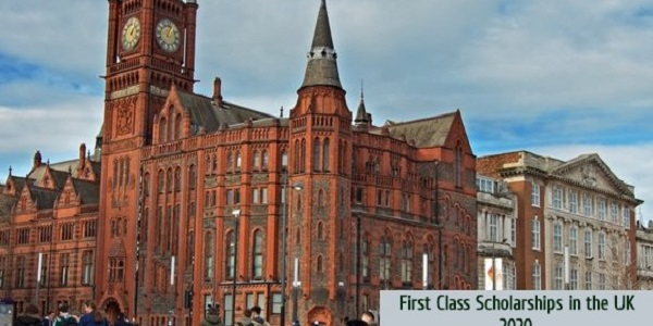 First Class Scholarships in the UK: (Deadline	Ongoing)