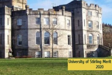 University of Stirling Merit Scholarship 2020: (Deadline	Ongoing)