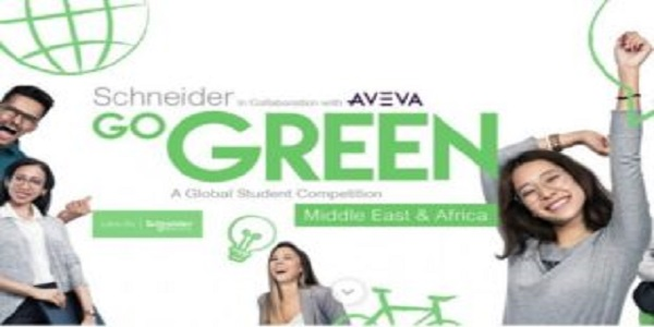 Schneider Go Green 2021 – Global Student Competition for Middle East & Africa: (Deadline 15 February 2021)