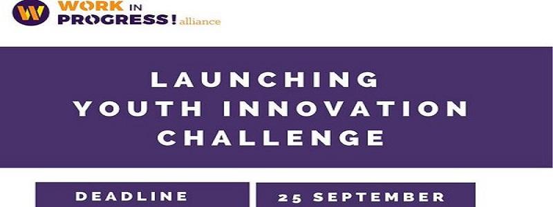 Work in Progress! Alliance Youth-led COVID-19 Innovation Challenge 2020 (€10,000 award): (Deadline 24 September 2020)