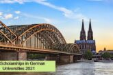 Full Scholarships in German Universities 2021: (Deadline 12 April 2021)