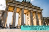 Hector Research Career Development Awards: (Deadline 30 October 2020)