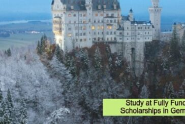 Fully Funded Scholarships in Germany: (Deadline 1 December 2020)