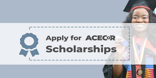 World Bank ACECoR Masters and PhD Scholarships 2020/2021 for young African Professionals: (Deadline 30 September 2020)