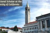Postdoctoral Scholar at the University of California: (Deadline 8 October 2020)