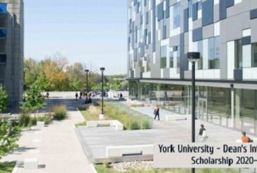Scholarships at the University of York in Canada: (Deadline 15 November 2020)