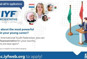 International Youth Federation Representative: (Deadline Ongoing)