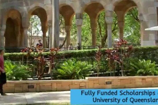 Fully Funded Scholarships in Australia: (Deadline 15 October 2020)