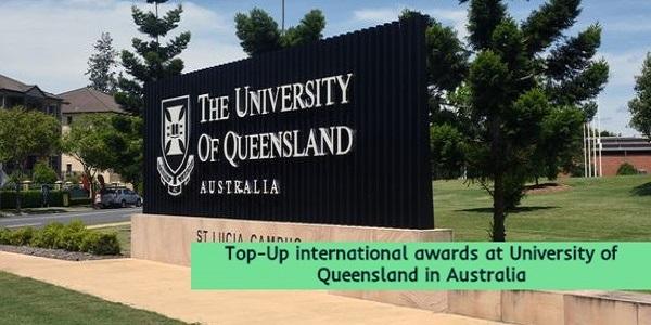 International awards at University of Queensland: (Deadline31 October 2020)