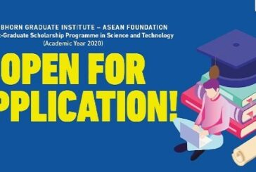 ASEAN Foundation Joint Post-graduate Scholarship Programme: (Deadline 15 November 2020)