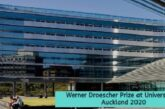 Werner Droescher Prize in New Zealand 2020: (Deadline Ongoing)