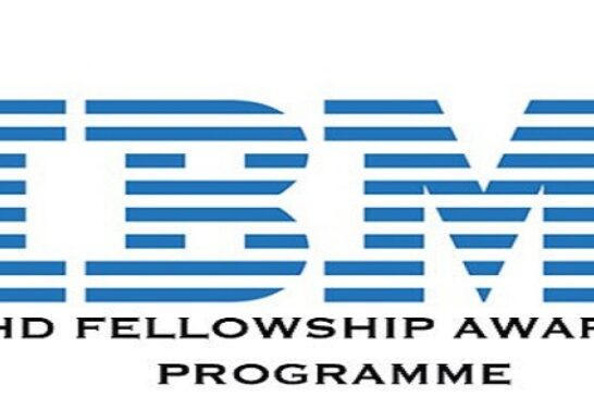 IBM Ph.D. Fellowship Awards Program 2021 for PhD Students Worldwide (Funded): (Deadline 23October 2020)