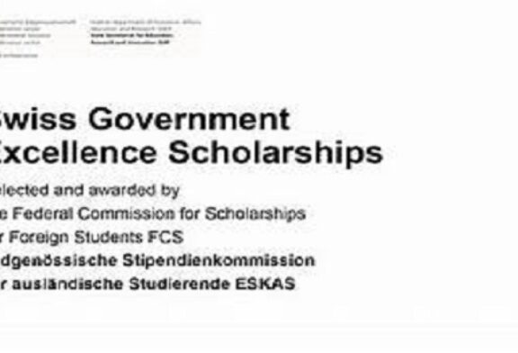 Swiss Government Excellence Scholarships 2021/2022- Foreign Students & Artists to study in Switzerland (Fully Funded): (Deadline 30 November 2020)