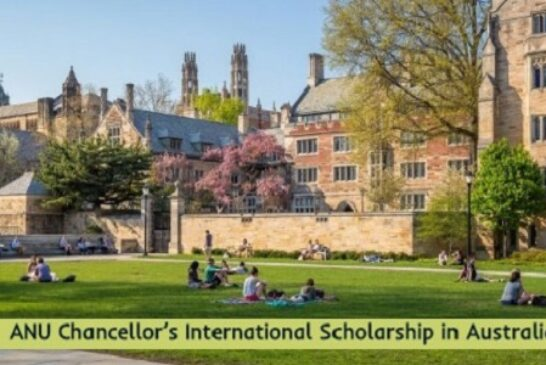 ANU International Scholarship in Australia: (Deadline Ongoing)