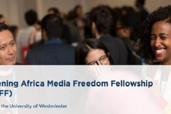 Fully funded Chevening Africa Fellowship in the United Kingdom: (Deadline 3 November 2020)