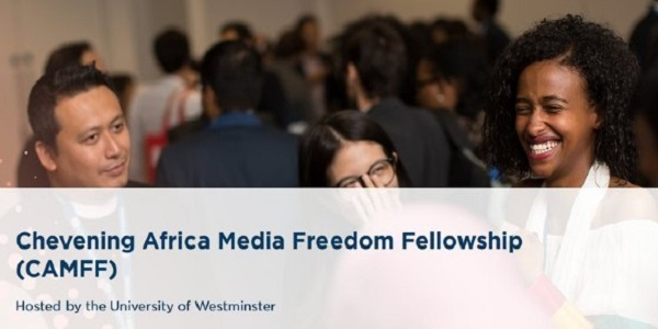 Fully funded Chevening Africa Fellowship in the United Kingdom: (Deadline 3 November 2020)