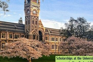 Fully Funded Scholarships at the University of Otago: (Deadline 1 September 2021)
