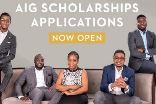 Africa Initiative for Governance (AIG) Scholarships: (Deadline 15 October 2020)