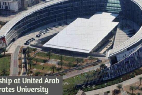 Postdoctoral Fellowship at United Arab Emirates University: (Deadline30 November 2020)