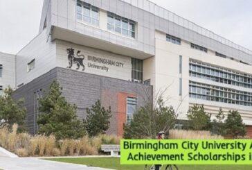 Birmingham City University Academic Achievement Scholarships in UK: (Deadline 15 January 2021)