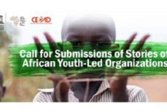 Call for Submission of Stories of African Youth-Led Organizations 2020: (Deadline 30 September 2020)