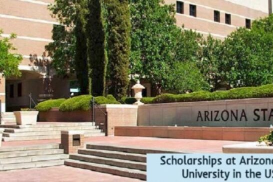 Scholarships at Arizona State University in the USA: (Deadline Ongoing)