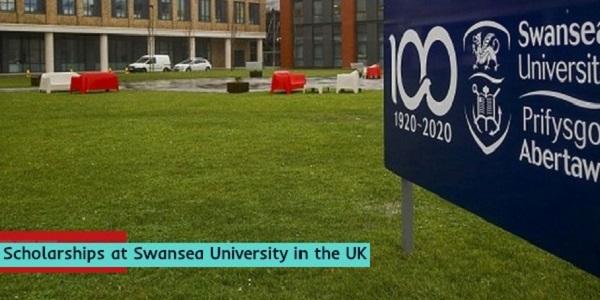 Scholarships at Swansea University in the UK: (Deadline 21 December 2020)
