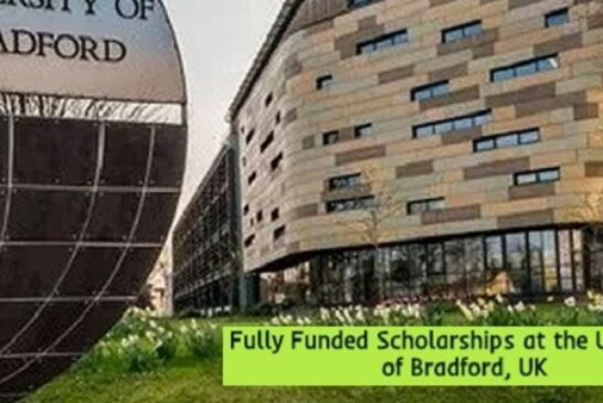 Fully Funded Scholarships Bradford University, UK: (Deadline 27 January 2021)