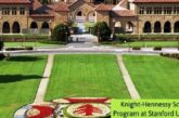 Scholars Program at Stanford University: (Deadline 14 October 2020)