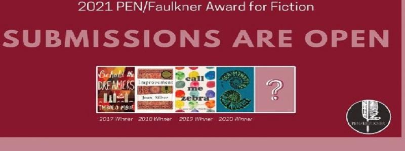 PEN/Faulkner Award for Fiction 2021: (Deadline 31 October 2020)