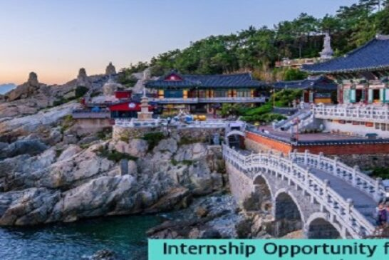 Internship Opportunity for Information Systems & Communication Technology in Korea  Internships: (Deadline 30 December 2020)