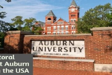 Postdoctoral Fellowship at Auburn University in the United States of America:(Deadline Ongoing)