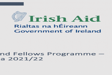Ireland Fellows Programme-Africa Scholarship 2021/2022 for young Africans (Fully Funded study in Ireland): (Deadline 13 September 2020)