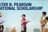 Lester B. Pearson International Scholarship Program 2021/2022 for study at the University of Toronto, Canada: (Deadline 30 November  2020)