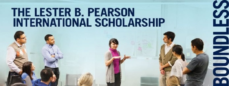 Lester B. Pearson International Scholarship Program 2021/2022 for study at the University of Toronto, Canada: (Deadline 30 November  2020)