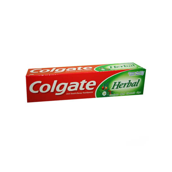 Colgate herbal 140 gr Price: 1400Rwf / Pc Delivery Fees: 1000 Rwf
