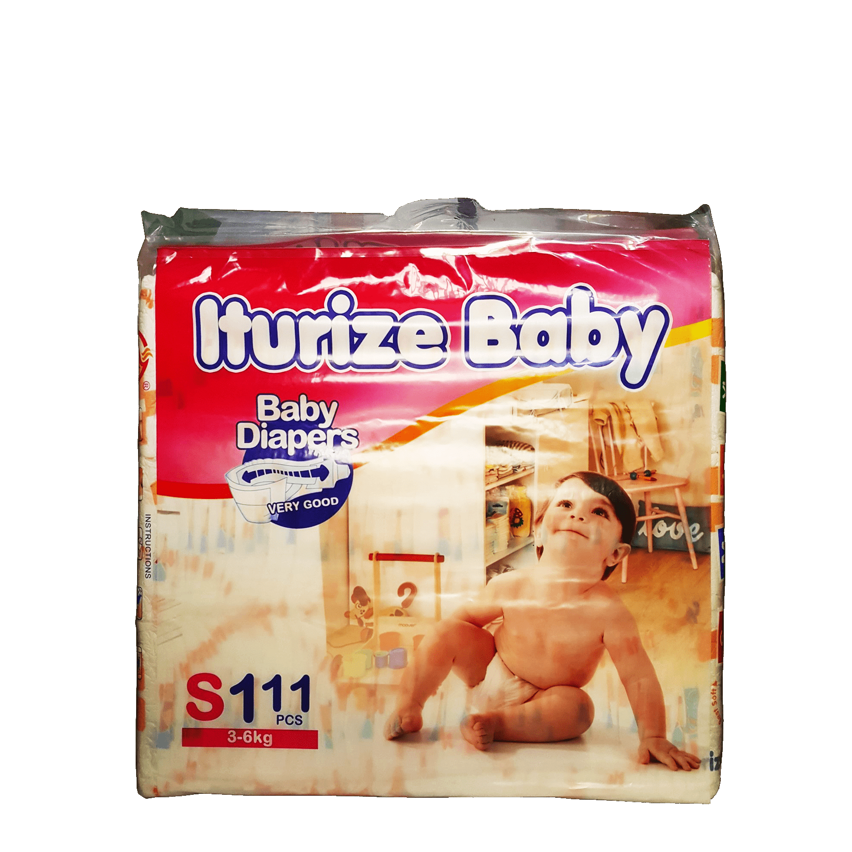 Iturize Baby Wipers (3-6Kg) Price: 19000 Rwf Delivery Fees: 1000 Rwf