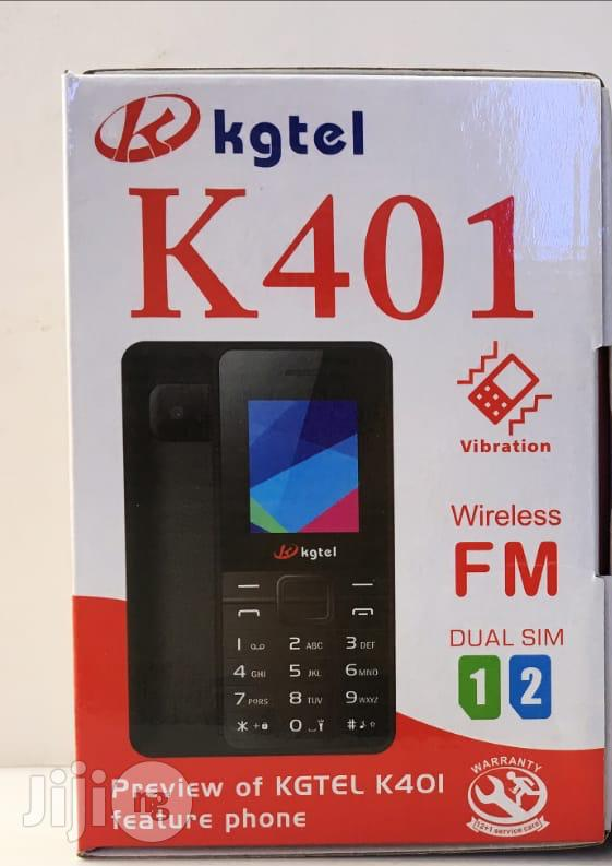 K401 – Dual Sim With Camera & Torch, FM, Loud Speaker Black, Price: 11000 Rwf, Free Delivery