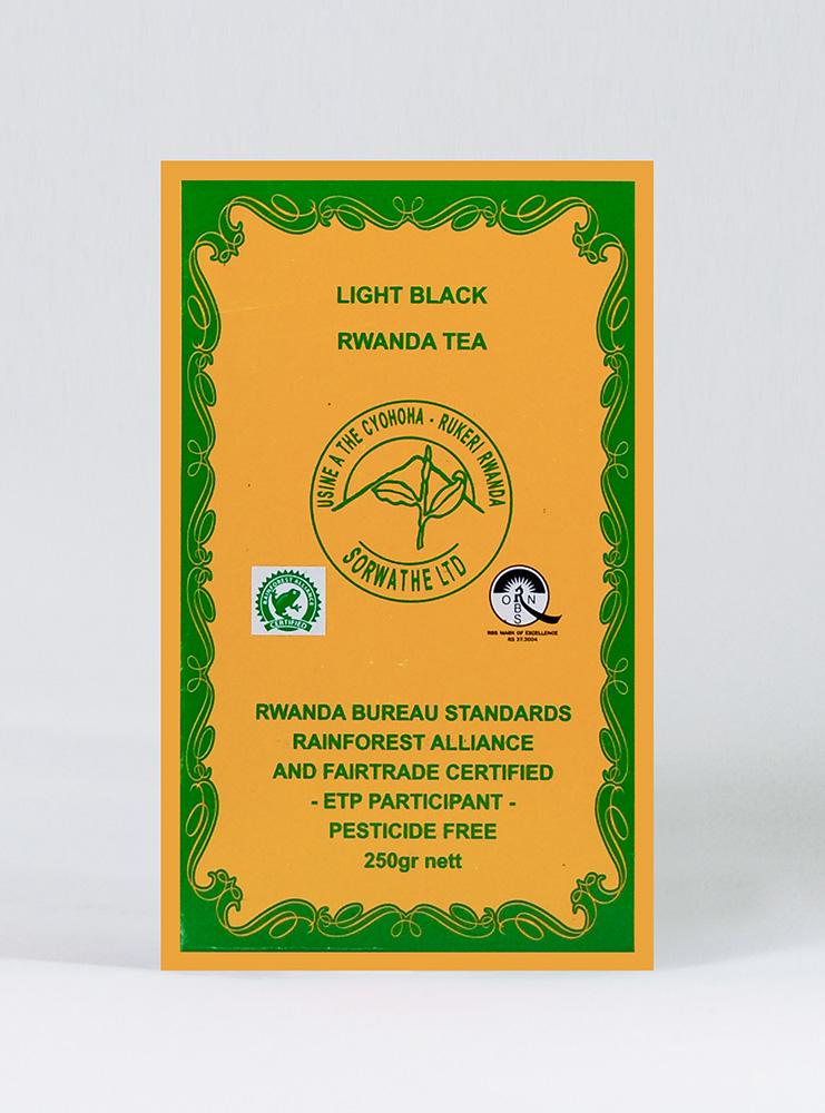 Black Tea Price: 1700 Rwf / Pc Delivery Fees: 1000 Rwf
