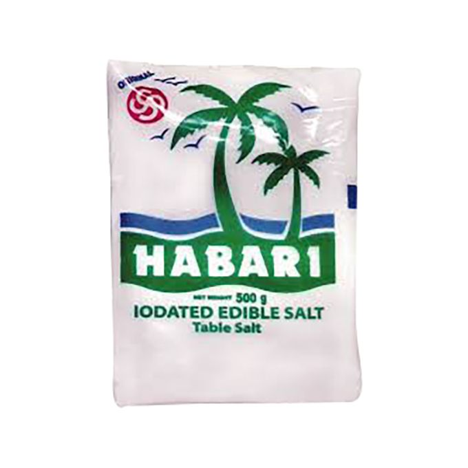 Habali Pure Salt 500 gr Price: 250 Rwf Delivery Fees: 1000 Rwf