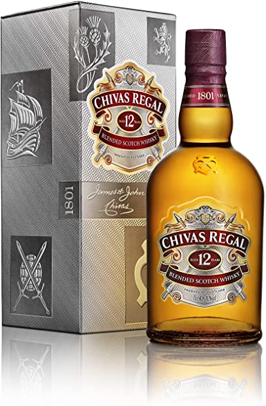 Chivas Regal 1 L, Price : 38,000frw, Free Delivery