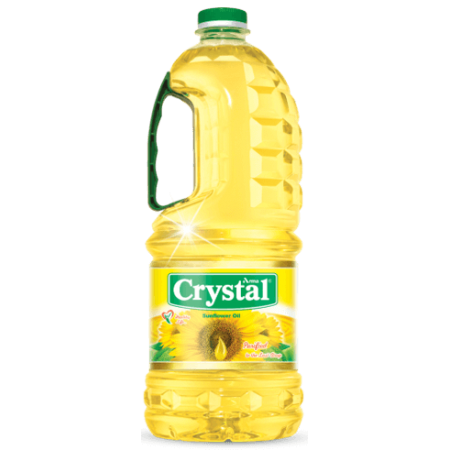 Crystal Sunflower Oil 5 L, Price: 9500 Rwf, Delivery Fees: 1000 Rwf