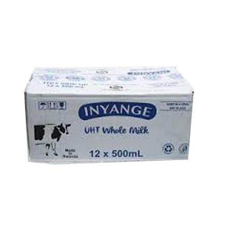 Inyange Milk 500 ml 12Pc, Price: 5500Rwf, Delivery Fees: 1000 Rwf