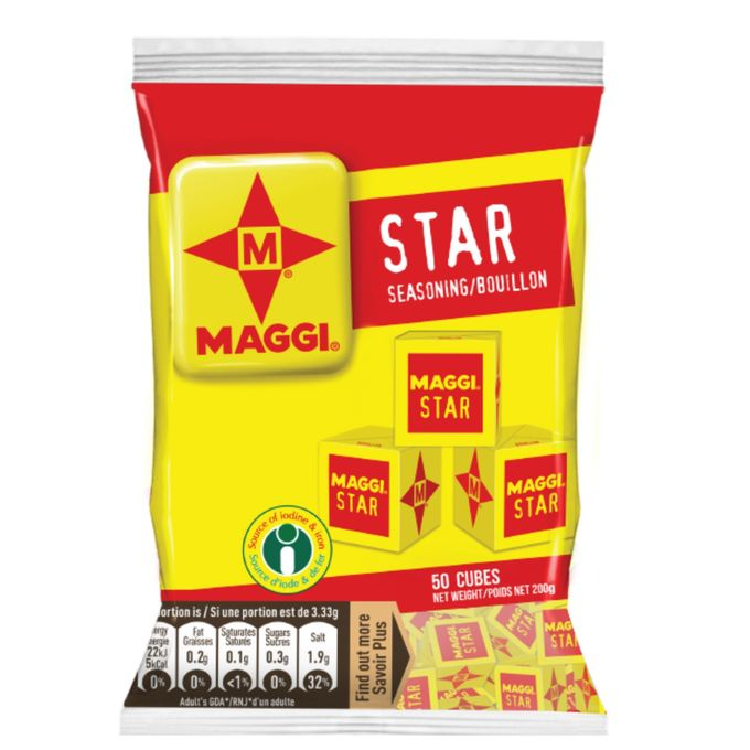 Maggi Star 50cubes 200 gr Price:1800 Rwf Delivery Fees: 1000 Rwf