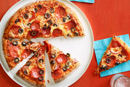 BLACK OLIVE PIZZA  Price : 5,000Frw Free Delivery