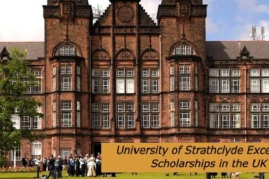 University of Strathclyde Excellence Scholarships: (Deadline30 November 2020)