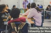 Dorothy Marchus Senesh Fellowship for Women 2021: (Deadline	15 January 2021)
