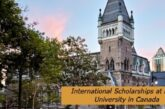 International Scholarships at McGill University in Canada: (Deadline 15 January 2021)