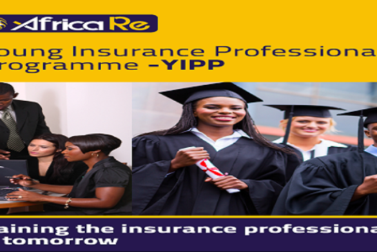 African Reinsurance Corporation (Africa Re) Young Insurance Professionals Programme (YIPP) 2020 for young Africans (Fully Funded): (Deadline 15 November 2020)